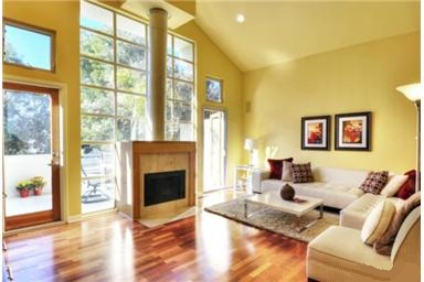 You will need a home loan to enjoy this light filled room
